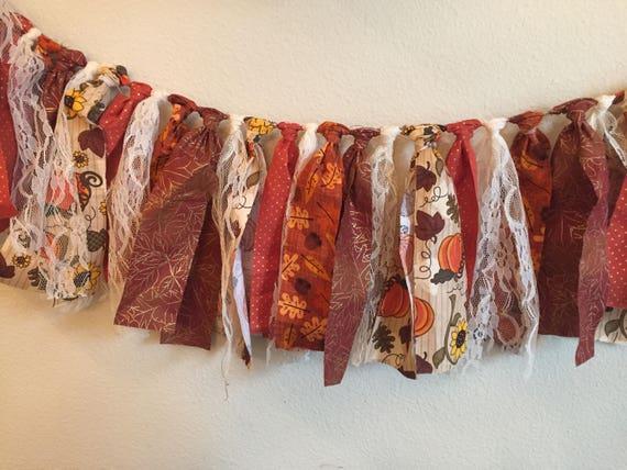 Fall Fabric Garland