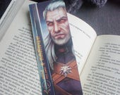 The Witcher bookmark, Ger...