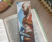 God of War bookmark, Krat...