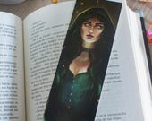 Witch bookmark, Halloween...
