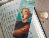 Mermaid bookmark, mermaid...