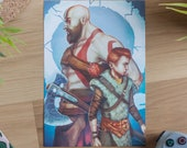 God of War 4, Kratos art ...