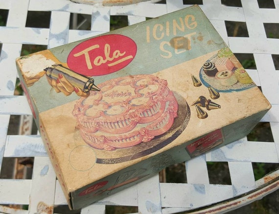 Vintage Tala Icing Set Tala Icing Set Cake Decoration Kit Vintage Icing Set Vintage Cake Icing Set Tala Icing Set No 1705 Baking Tools
