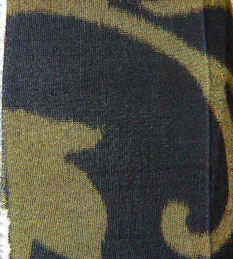 Vintage Kasuri Ikat Silk \u2013 Japanese Kimono Fabric Group of 8 \u2013Japanese Hand Dyed Fabric \u2013 Japanese Art Ethnic  Fabric Fabric Sampler