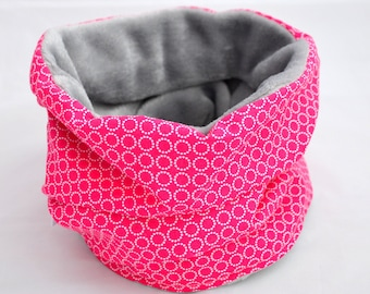 Raspberry pink Snood