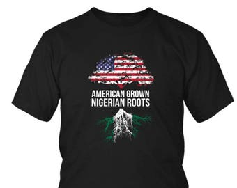 American Grown with Nigerian Roots Shirt - Unisex Shirt f20086006
