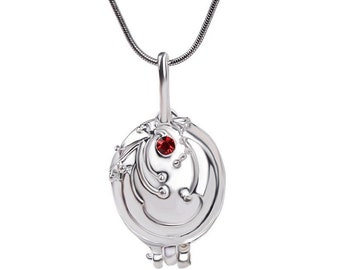 The Vampire Diaries inspired Elena Gilbert Vervain Locket necklace from Stefan Salvatore.