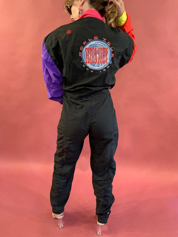 Elton John 1989 1990 World Tour Jumpsuit Tee Shirt