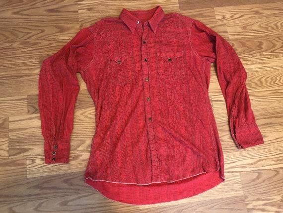 Vintage Single-Stitch Western Shirt ||  Medium  |… - image 1