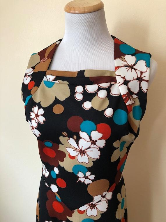 Vintage Mod Hawaiian Hostess Dress || Small || 196