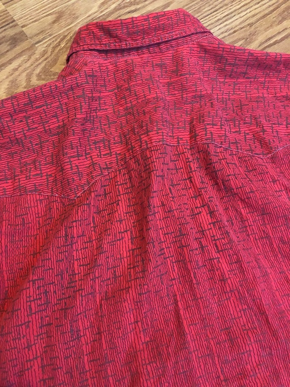 Vintage Single-Stitch Western Shirt ||  Medium  |… - image 3
