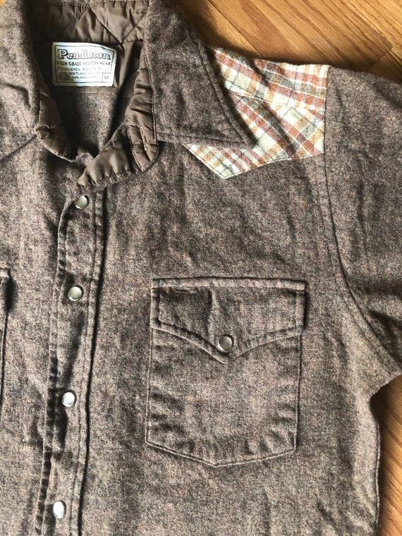 Vintage Pendleton Western Wear Shirt ||  Medium  … - image 4