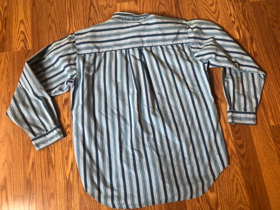 """80s Levis Shirt with """"Big E"""" tab    Large - image 3"""