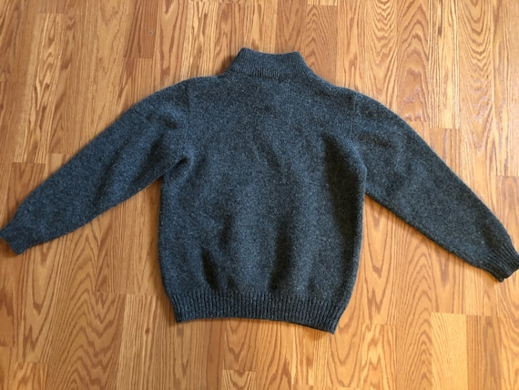 Vintage LL Bean Winter-weight Lambs Wool Sweater … - image 3
