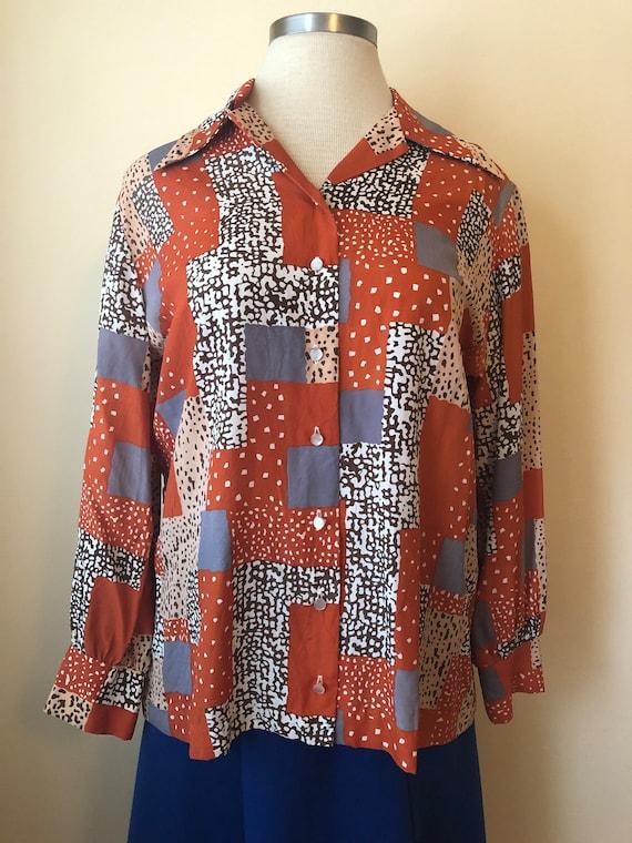 Oversize 80's Comedian Shirt by MORLOVE || XL || 1