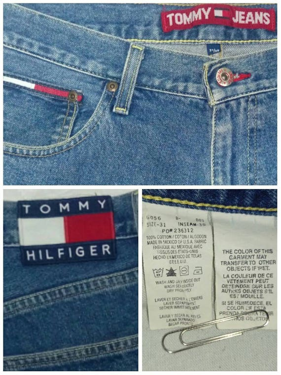 Tommy Hilfiger Denim Regular 34 Size 32 Inseam Jeans for Men