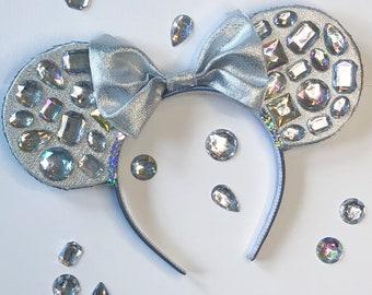 Diamond Mine- Bedazzled Minnie Ears