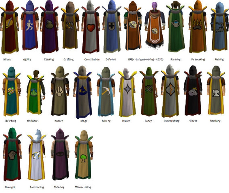 Osrs 99 Capes — Available Space Miami