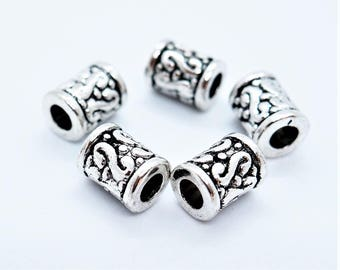 5 Cylinder beads