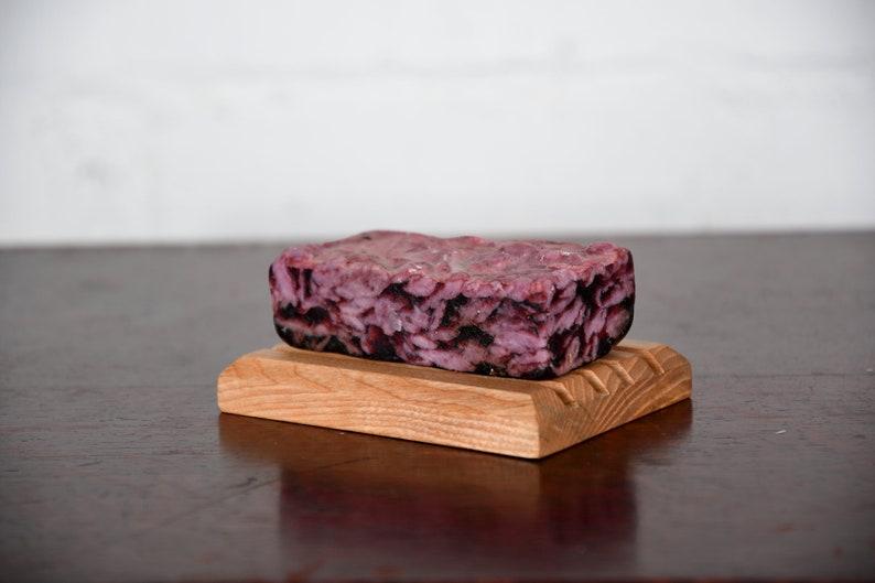 Wooden Soap Holder Draining Soap Tray Handmade Wooden Soap Dish Soap Saver