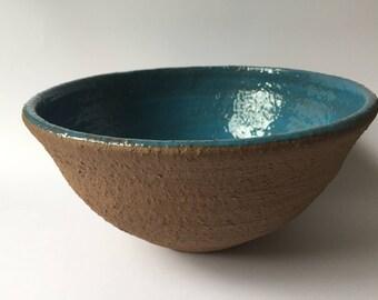 Large Hand Thrown Ceramic Bowls