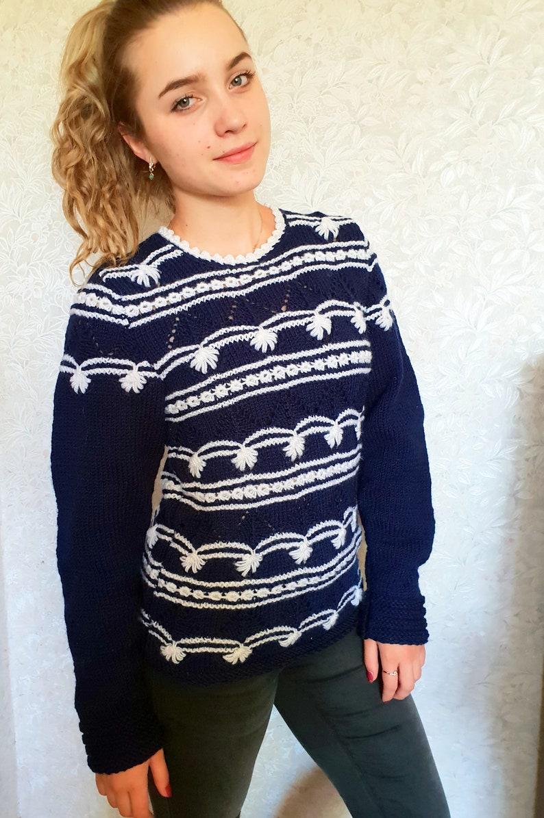 fb1c6e155 Hand Knitted Women s Sweater Women s Knitted Sweater