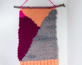 Tapestry 2.0-Gray and Peach