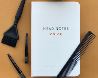 Hair Colorist Book / Formulas Book / Color Formulas / Colorist Stationary