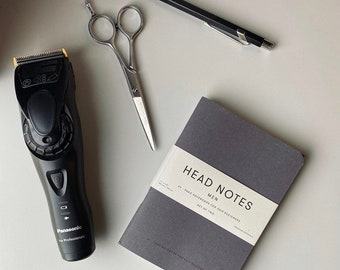 Barbering Head Sheets Booklet / Book For Hairdressers/ Barbers Booklet / Technical Head Sheet