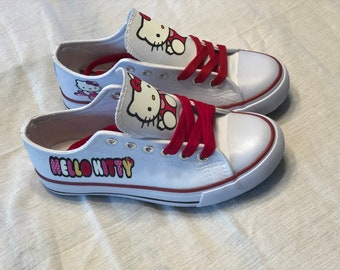 Custom Hello Kitty Shoes 7ee36652b026