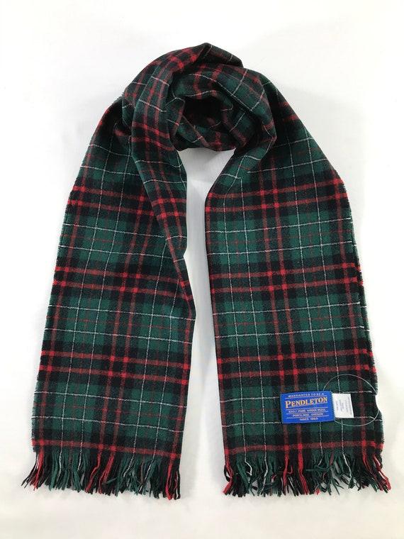 Vintage Pendleton Scarf Neckwear Muffler Scarves C
