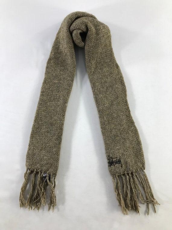 Vintage Stussy Scarf Neckwear Muffler Scarves Cash