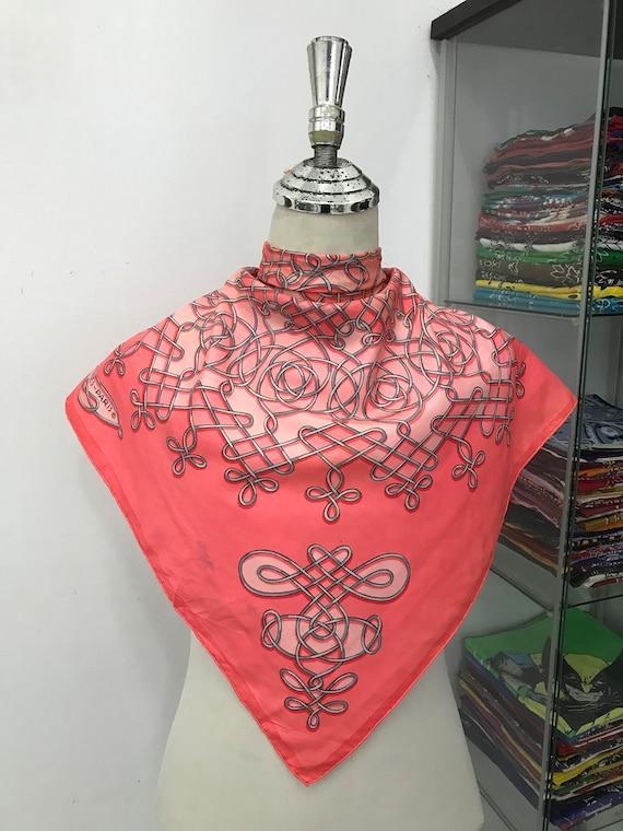 Vintage HERMES silk Scarf La mare aux canards, Sca