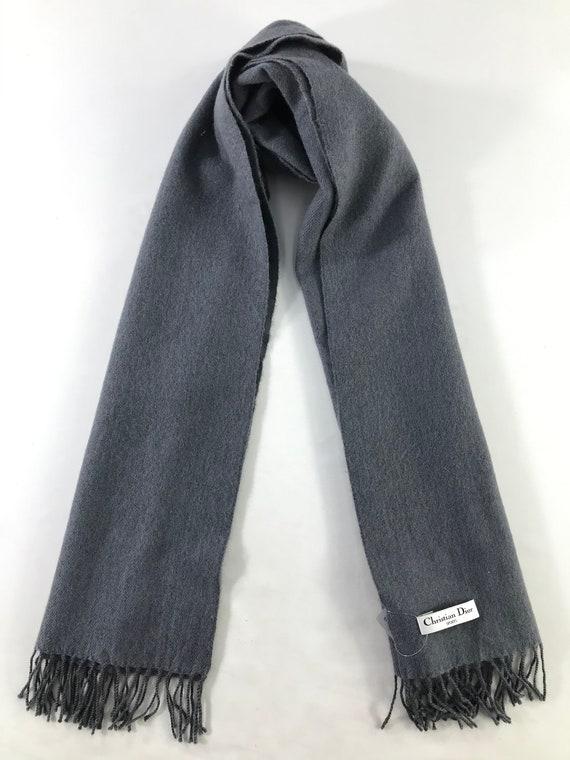 Vintage Dior Scarf Muffler Neckwear Wool Scarf Win