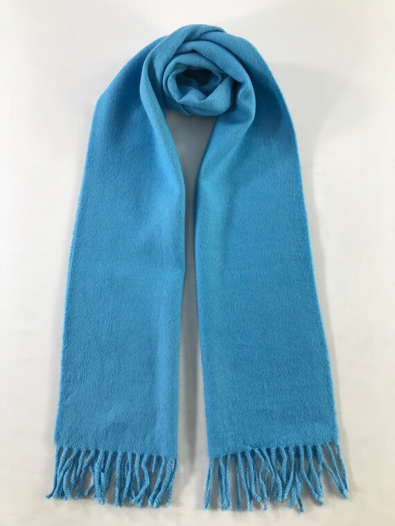 Vintage Tumi Scarf Muffler Cashmere Wool Winter Sc