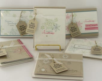Assorted Christmas Cards (Set of 5)