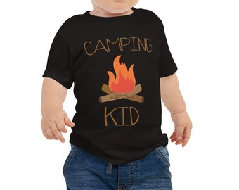 Camping Kid Baby Jersey Short Sleeve Tee
