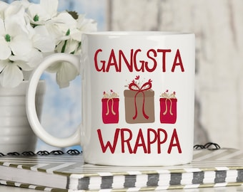 Gangsta Wrappa Christmas Mug
