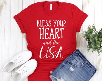 Bless Your Heart and the USA Tee