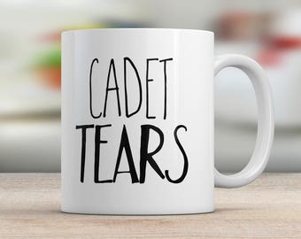 Military School Cadet Tears Mug