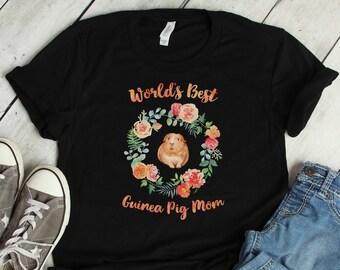 World Best Guinea Pig Mom Tee -Anvil 880 Edition