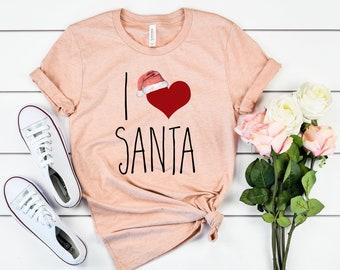 I Love Santa Tee