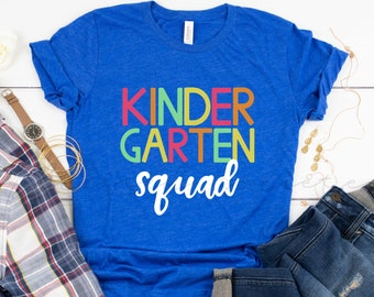 Kindergarten Squad Tee