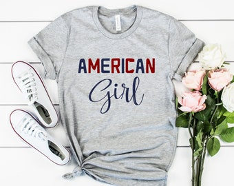 American Girl Patriotic Tee