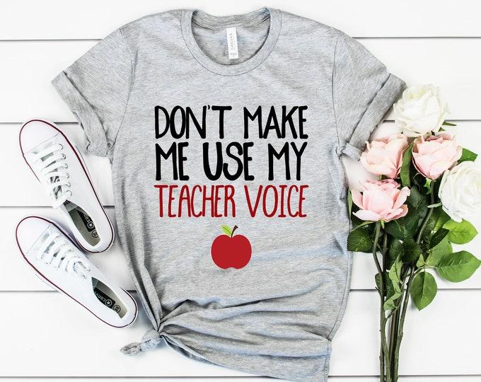 Teacher Voice Tee