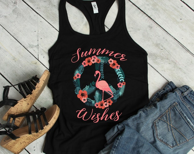 Summer Wishes Racerback Tank