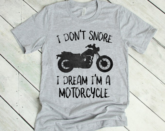 I Dream I'm a Motorcycle Tee