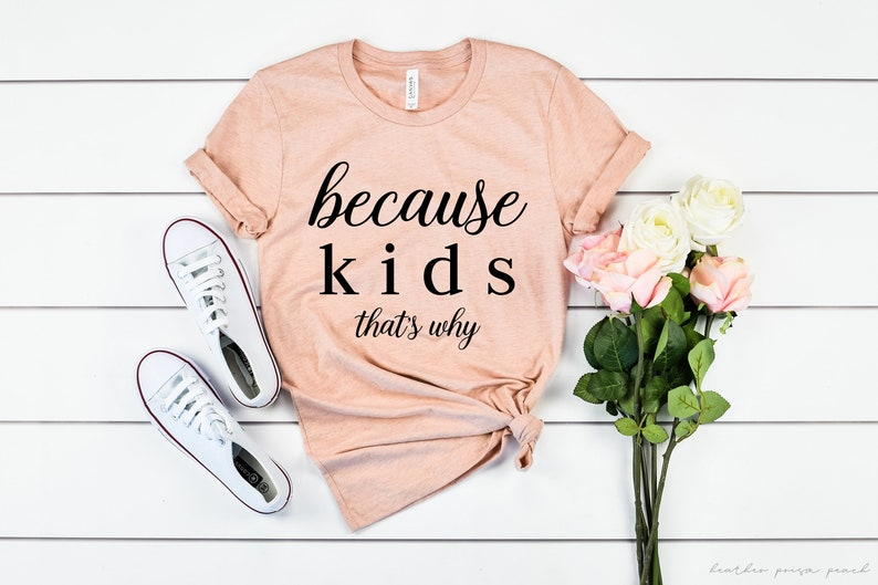 I Smile Because You/'re My Mother Funny Mum Kids//Childrens T-Shirt