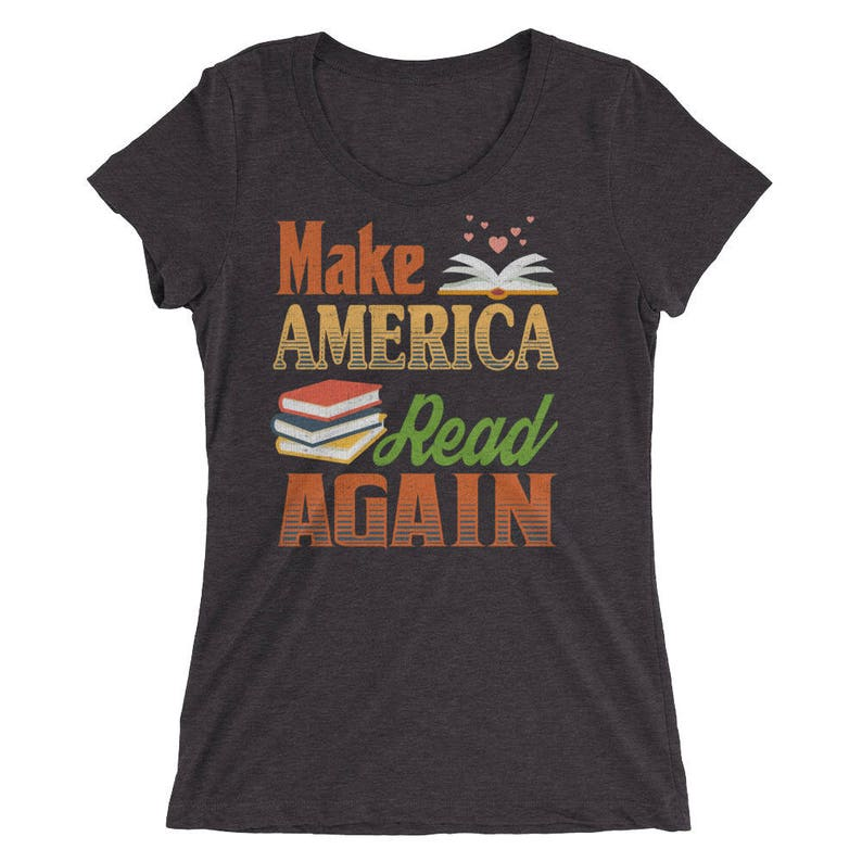 Make America Read Again Women's t-shirt for Book Club MVP image 0