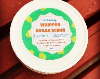 Creamy Coconut Whipped Sugar Scrub